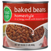 Food Club Homestyle Baked Beans In A Tangy Sauce With Brown Sugar & Bacon