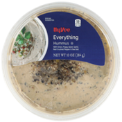 Hy-Vee Everything Hummus With Onion, Poppy Seed, Garlic, Red Crushed Pepper & Sea Salt