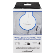 Mobilcharge Charging Pad, Wireless