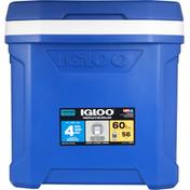 Igloo Cooler Box, Profile II, 60 Roller, Blue