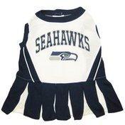 Pets First Medium NFL Seattle Seahawks Cheerleader Dress