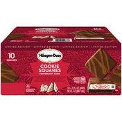 Haagen-Dazs Peppermint Bark Cookie Squares