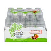 Nature's Promise Unsweetened Flavored Water Blood Orange - 12 PK