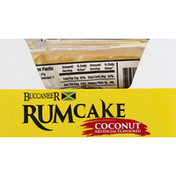 Buccaneer Rumcake, Coconut