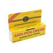 Best Choice Medicated Anti-Itch Cream