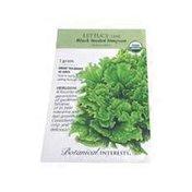Botanical Interests Og Lttc Leaf Black Sd Simpson