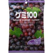 Kasugai Gummy Candy, Grape 100%