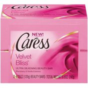 Caress Velvet Bliss Ultra Silkening W/Blackberry & Vanilla Essence Beauty Bars