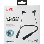Jvc Headphones, Wireless, Air Cushion, Black