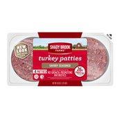 Shady Brook Farms Savory Seasoned Turkey Patties