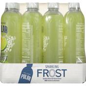 Polar Sparkling Water, Lemon Lime