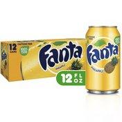 Fanta Pineapple Soda Fruit Flavored Soft Drink