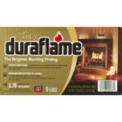 Duraflame Firelogs, Brighter Burning, Gold