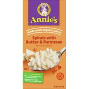 Annie's Pasta & Cheese, Spirals with Butter & Parmesan