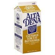 Alta Dena Buttermilk, Cultured Low Fat, 1% Milkfat