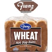 Franz Hot Dog Buns, Wheat