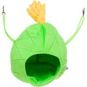 """Multi Pet Large Green Pineapple House Small Animal Hideaway 9"""" L X 9"""" W X 9"""" H"""