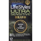 LifeStyles Condoms, Latex, Ultra Sensitive