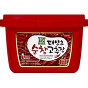 Jongga Vision Pepper Paste, Hot, Level 3, Medium Hot