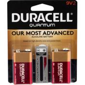 Duracell Quantum Alkaline Battery 9V
