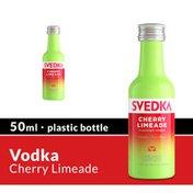 SVEDKA Cherry Limeade Flavored Vodka Mini Plastic Bottle