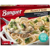 Banquet Family Size Chicken Alfredo with Broccoli