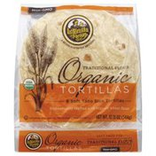 La Tortilla Factory Tortillas, Organic, Traditional Flour, Soft Taco Size