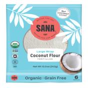 Sana Foods Tortilla, Grain Free, Large Wrap