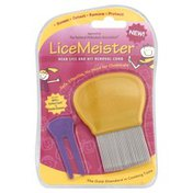 Lice Meister Head Lice and Nit Removal Comb