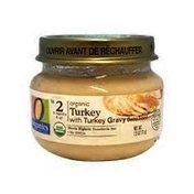 O Organics For Baby Organic Baby Food Stage 2 Turkey With Turkey Gravy