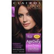 Clairol Age Defy Clairol Expert Collection Age Defy Permanent Hair Color 4R Dark Auburn 1 Kit Female Hair Color