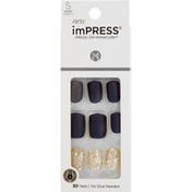 imPRESS Press-On Manicure, Short Length, Wannabe Star
