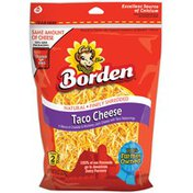 Borden Finely Shredded Taco Cheese