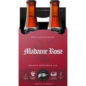 Goose Island Beer Co. Madame Rose Belgian Style Wild Ale Beer Bottles