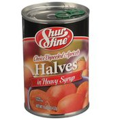 Shurfine Choice Unpeeled Apricots Halves In Heavy Syrup