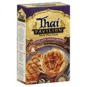 Thai Pavillion Rice Noodle Nests, with Simmer Sauce, Peanut Satay Simmer Noodles