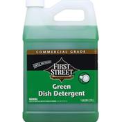 First Street Dish Detergent, Green, Commercial Grade