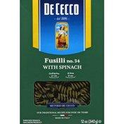 De Cecco Fusilli with Spinach No. 34