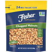 Fisher Walnuts, Chopped, Value Size