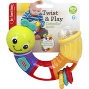 Infantino Caterpillar Rattle, Twist & Play, 6+ Month
