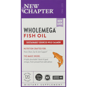 New Chapter Fish Oil, Softgels