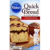 Pillsbury Quick Bread & Muffin Mix, Cinnamon Swirl