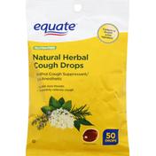 Equate Cough Drops, Natural Herbs