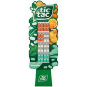 Tic Tac Artificially Flavored Mints Display
