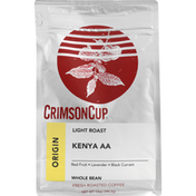 Crimson Cup Kenya AA Whole Bean Coffee