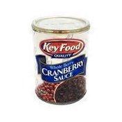 Key Food Cranberry Sauce