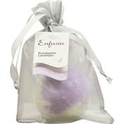 Enfusia Bath Bomb, Fizz & Foam, Eucalyptus Lavender