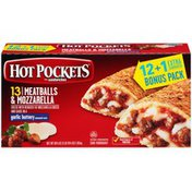 Hot Pockets Italian Style Meatballs & Mozzarella Frozen Sandwiches