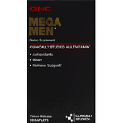 GNC Mega Men, Timed-Release Caplets