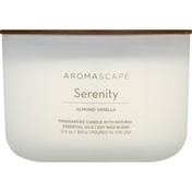 Aromascape Candle, Almond Vanilla, Serenity